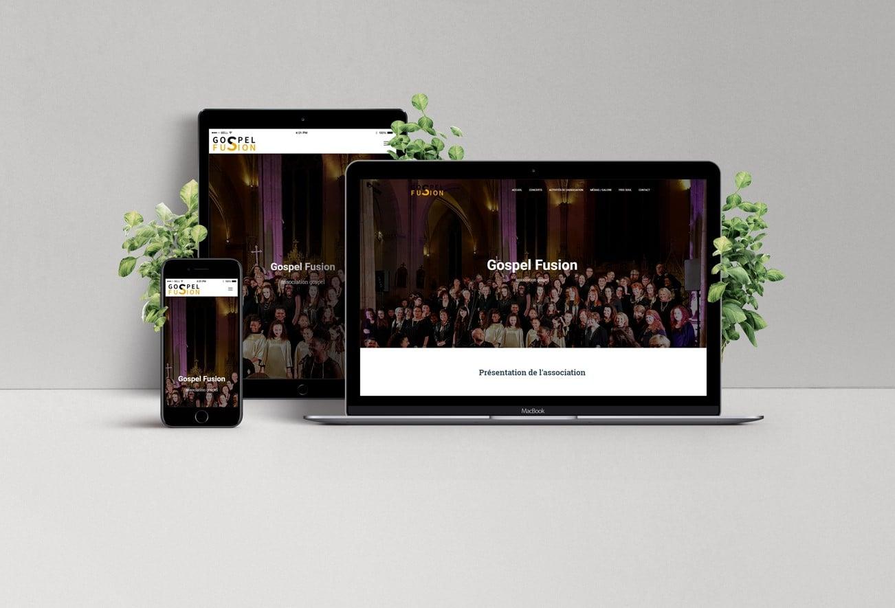 Gospel Fusion – site